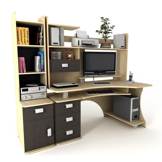 Компьютерный стол trend 105 - стол-компьютерный.рф - мебельн.